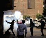 EGYPT CAIRO CLASHES
