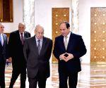 EGYPT CAIRO ALGERIA'S INTERIM PRESIDENT VISIT