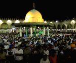 EGYPT CAIRO RAMADAN LAYLAT AL QADR NIGHT PRAYER