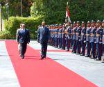 EGYPT CAIRO ERITREA PRESIDENT VISIT