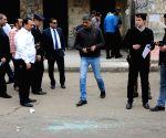 EGYPT CAIRO METRO STATION BLAST