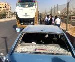 EGYPT CAIRO ACCIDENT TOURIST BUS EXPLOSION