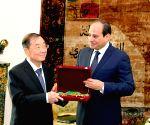 EGYPT-CAIRO-CHINESE AMBASSADOR-FIRST CLASS ORDER