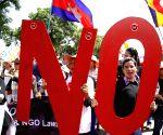 CAMBODIA PHNOM PENH PROTEST