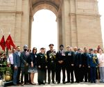 Canadian Defence Minister pays tribute at Amar Jawan Jyoti