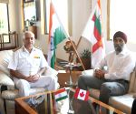 Canadian Defence Minister visits Western Naval Command (With Image)