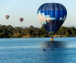 AUSTRALIA-CANBERRA-HOT AIR BALLOON
