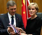 AUSTRALIA CANBERRA CHINA TRADE REPORT