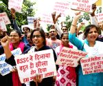 Students' demonstration over SSC examination results