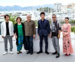 FRANCE-CANNES-70TH CANNES FILM FESTIVAL-MUGEN NO JUNIN-PHOTOCALL