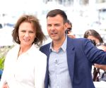FRANCE-CANNES-70TH CANNES FILM FESTIVAL-IN COMPETITION-AMANT DOUBLE-PHOTOCALL