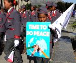 SOUTH AFRICA-CAPE TOWN-AFRICA DAY-PEACE WALK