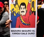 VENEZUELA CARACAS SOCIETY MARCH