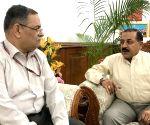 CBI Director meets MoS PMO Jitendra Singh
