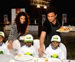 World Food Day - Chef Vikas Khanna, Saiyami Kher