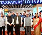 CBDT Chairman inaugurates Taxpayers Lounge at Pragati Maidan