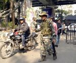 CRPF deployed at Nizam Palace