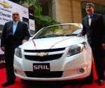 "Press conference for launching ""Chevrolet Sail Sedan"""