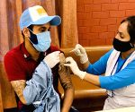 Chahar, Kaul get first dose of Covid-19 vaccine