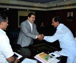 Gautam Adani calls on KCR