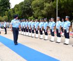 Marshal B.S. Dhanoa visits Headquarters Training Command, Bengaluru