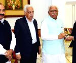 Pakistani press delegation calls on Haryana CM