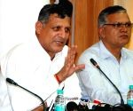 Haryana speaker's press conference