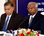 Justice K.G. Balakrishnan addresses press