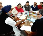 Punjab Dy. CM during a meeting