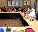 Bibi Jagir Kaur  during a meeting with Women wing leaders of the party