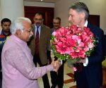 British Foreign Secretary calls on Haryana CM