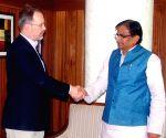 Allan Mustard calls on Om Prakash Dhankar