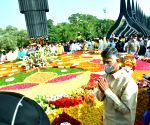 Free Photo: Naidu, TDP leaders pay tribute to NTR on 25th anniversary