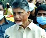 Amaravati is the right of Andhra people: Chandrababu Naidu