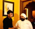 Chef Vikas Khanna at a restaurant
