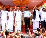 DMK leads protest against SC/ST law dilution