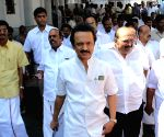 Walk out from Tamil Nadu State Assembly