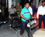 Indians stuck in violence hit Yemen arrive at the Chennai Airport