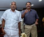 Kerala CM during a programme