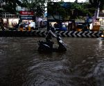Chennai lashed with rainfall, many roads waterlogged