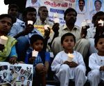 Demonstration against the mysterious death of Karnataka IAS officer