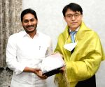 Chennai South Korean Consul General calls on Andhra CM
