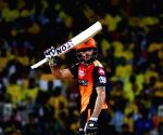 Pandey, Warner fifties help Sunrisers post 175/3
