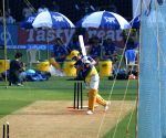 Chennai Super Kings practice session