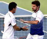 ATP Chennai Open 2015 - Stan Wawrinka and Roberto Bautista Agut vs Nicholas Monroe and Johan Brunstrom