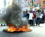 Chhatra Rajad's demonstration