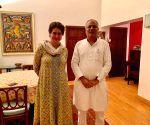 Chhattisgarh CM Baghel meets Priyanka