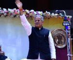 Amidst opposition bonhomie, Congress CMs in Hindi heartland sworn-in