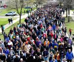 U.S.-CHICAGO-WALK FOR PEACE