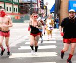 U.S. CHICAGO CHARITY RUN IN UNDERWEAR
